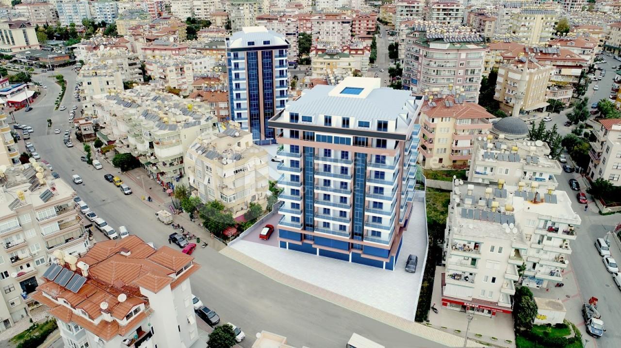 Визуализация жилого комплекса в центре Алании
